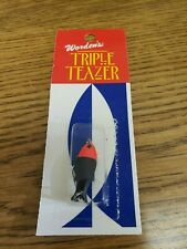 Wordens Yakima Bait 1/32 oz Black Red  Triple Teazer  Discontinued Color