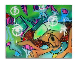 "TKid  ""NYC Graffiti Legend"" Original Canvas 24"" x 30"" - Street Art painting COA"