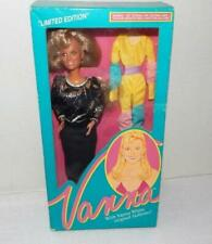 Vintage VANNA WHITE Doll With Black Dress 1990 HSN - NEW in Box