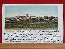 Farblitho - Grafenschlag - gel 1903 - Bezirk Zwettl - schöne Sammlerkarte !!