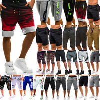 Men's Sports Half Pants Gym Running Jogger Summer Casual Shorts Bottom Trousers