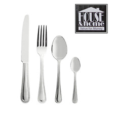 24 PC Cutlery Set Stainless Steel Tableware Dining Knives Forks Spoons