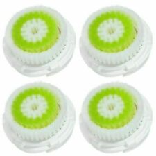 Acne Facial Cleansing Brush Head Replacement for  All Clarisonic ( 4 Pack )