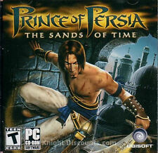 Prince of Persia THE SANDS OF TIME - Original Ubisoft Action PC Game SEALED NEW!