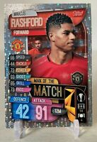 2019-20 UEFA Champions League Match Attax UK Edition Man of the Marcus Rashford