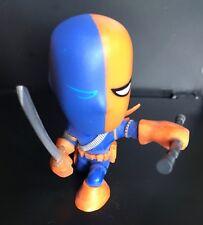 Super villain Deathstroke DC Comics Justice League 2 1/2 inch plastic figurine