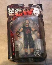 WWE ECW Extreme B. Mahoney figure NEW sealed in bad shape box