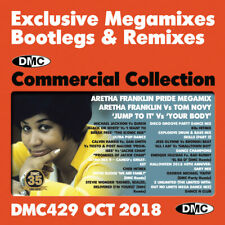 DMC Commercial Collection 429  Exclusive Megamixes, Remixes & Two Trackers 2 CDs