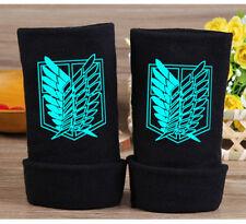 Attack on Titan Half Finger Glove Cotton Mitten Unisex Cosplay Glove Luminous