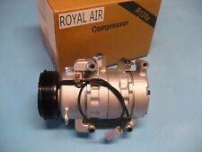 ROYAL AIR A/C AC COMPRESSOR FOR: 2004-2009 MAZDA 3 (2.0 & 2.3L w/o Turbo)