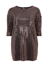 Evans Bronze Sparkle Sequin Top,Tunic - BNWT - Plus Size 26/28