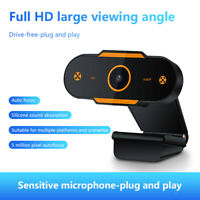 Full HD 2K 1080P Auto Focus Webcam Built-in Microphone Camera For Laptop Desktop