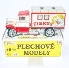 Kovap 1:32 HAWKEY 1924 CIRCUS LIVING CAMPER TRUCK Wind-Up Tin Model MIB`80 RARE!