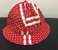 Crooks & Castles RED Moon Bucket Sample Hat Rare