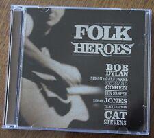 Folk Heroes, bob dylan leonard cohen donovan tori amos pogues ect , 2CD