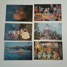 Postcards, Disneyland, lot of 6, unposted, excellent condition