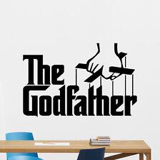 The Godfather Wall Decal Gangster Mafia Movies Vinyl Sticker Decor Mural 125zzz