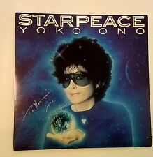 YOKO ONO STARPEACE LP SIGNED!! EXTREMELY RARE - NEAR MINT
