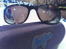 """Maui jim""""TYPHOON""""168-02 GLOSS BLACK/BRONZE,NEW DISPLAY W/ CASE,IMPOSSIBLE FIND,"""