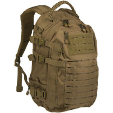 Mil-Tec Mission Pack Laser Cut Large Army Hydration MOLLE Backpack Dark Coyote