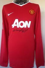 Manchester United Player Issue Shirt Firmata da ROONEY CON LETTERA DI GARANZIA