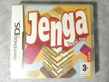 JENGA WORLD TOUR - NINTENDO DS DSi 3DS 2DS PAL ITA ITALIANO COMPLETO COME NUOVO