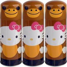 "3-pack Hello Kitty Smart Monkey Novelty Mixo Tin Can (8"" Tall) Collectible!"