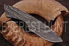 EVEREST HUNT CUSTOM MADE DAMASCUS BLANK BLADE HUNTING SKINNER KNIFE B4-1802