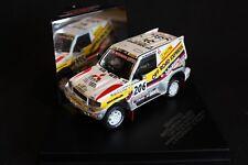 Skid Mitsubishi Pajero 1998 1:43 #206 Fontenay / Picard Dakar Rally 1998