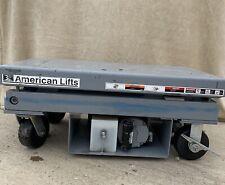 American Lifts Electrichydraulic Scissor Lift Table 4000 Lbs