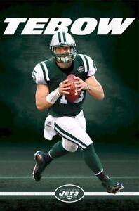 TIM TEBOW POSTER ~ FOCUS 22x34 NFL New York Jets Football 5722 Quarterback
