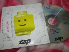Ether Real ‎– Zap Truelove Electronic Communications UK CD EP Maxi-Single
