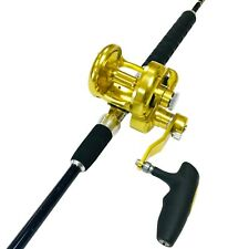 EatMyTackle Amberjack King Saltwater Jigging Rod & Reel Combo