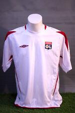 Lyon Football Shirt Adult L Training Shirt 08/09 Umbro Soccer Jersey Camesita