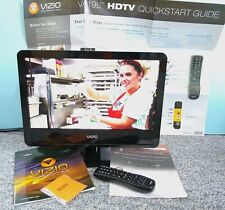"Vizio Va19L Hdtv10T 19"" Hd Lcd Television Hdmi, Remote, Manuals, Mint!"