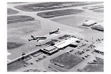 TOWNSVILLE Airport terminal Garbutt TAA & Ansett Jets modern Digital Postcard