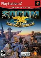 SOCOM U.S. Navy Seals (No Headset) - PlayStation 2 - Video Game - VERY GOOD