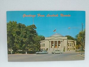 Vintage Pershing County Courthouse Lovelock Nevada Postcard