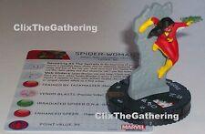 SPIDER-WOMAN #055 Nick Fury Agent of S.H.I.E.L.D Marvel HeroClix Super Rare