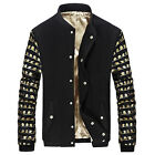 Korean Style Men's Boy Coats Slim Fit Stand Collar Fashion Casual Outwear Jacket
