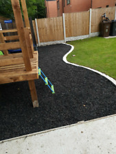 More details for rubber, playground, garden chippings - 20kg bag - covers 1m2 - uncoloured