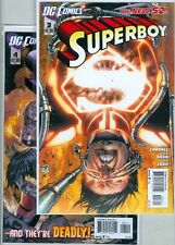 Superboy #3, #4, #5 and #6 New 52