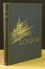 LONDON: A PILGRAMAGE (1890) GUSTAVE DORE ILLUSTRATED, HARPER FOLIO 1ST EDITION