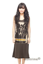 LED ZEPPELIN Jimmy Page Rock Long Dress T-Shirt Women Tank Top Tunic Size S M