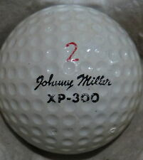 (1) JOHNNY MILLER SIGNATURE LOGO GOLF BALL (WILSON XP-300 CIR 1972) #2