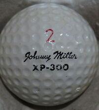 (1) JOHNNY MILLER SIGNATURE LOGO GOLF BALL (WILSON XP-300 CIR 1972) #2