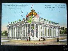 San Francisco,Ca~1908 Hibernia Savings & Loan Society
