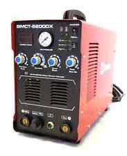 Simadre Plasma Cutter 5200DX 50 Amp / 200 Amp Tig Arc Mma Welder 110/220V