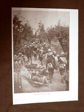 WW1 Prima guerra mondiale 1914-1918 Rincalzi presso il Piave Vecchio nel 1917