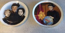 Pair Of Ltd Edition Eva Burrows Salvation Army Wedgewood Plates